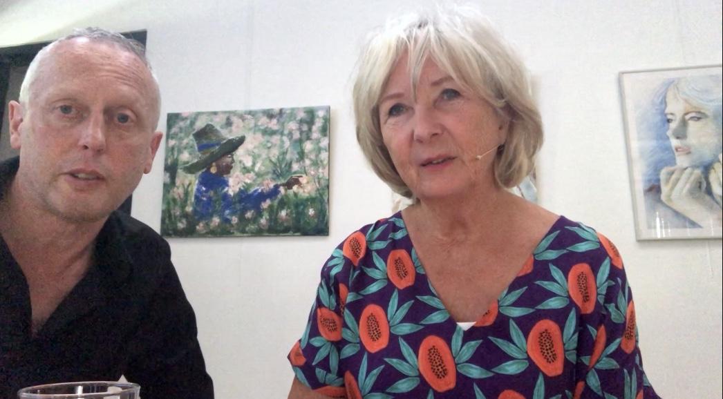 Vlog: interview met Vivian den Hollander en Mattie Poels