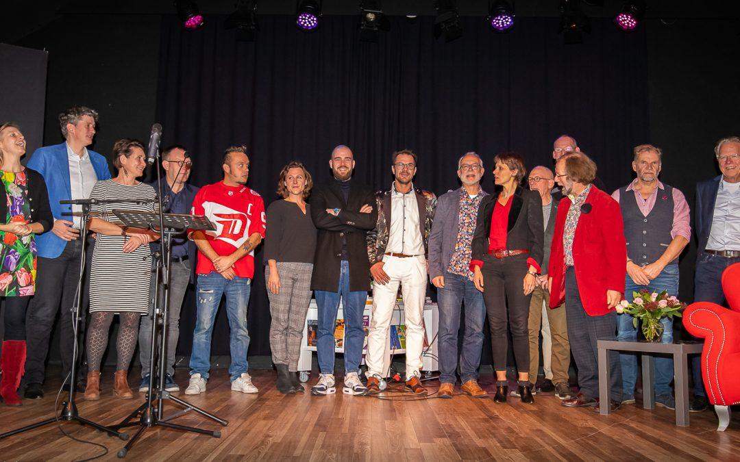 Avond van de Zuid-Hollandse Poëzie in Theater 't Web groot succes