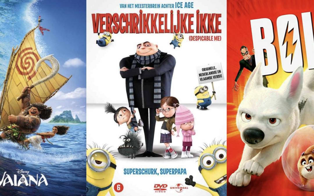 Welke film wordt het: Verschrikkelijke Ikke, Bolt of Vaiana?