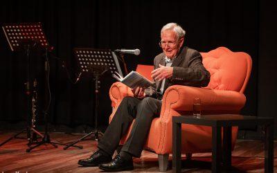 Jan Terlouw hoofdgerecht van literaire lunch