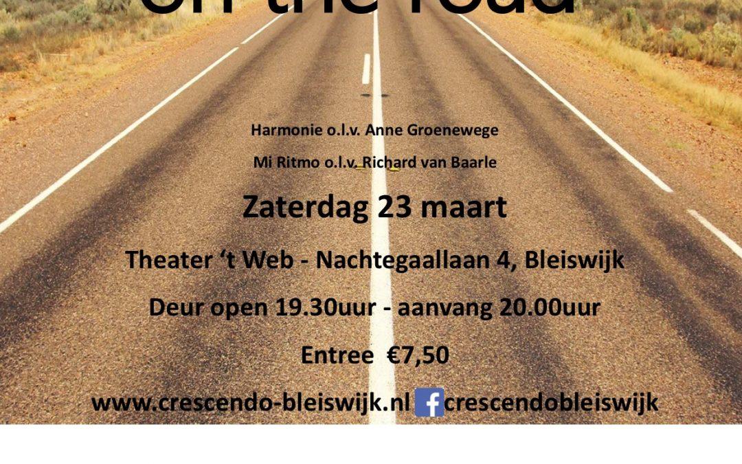 Voorjaarsconcert Crescendo: 'On the road'