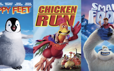 Welke film wordt het: Happy Feet, Chicken Run of Small Foot?