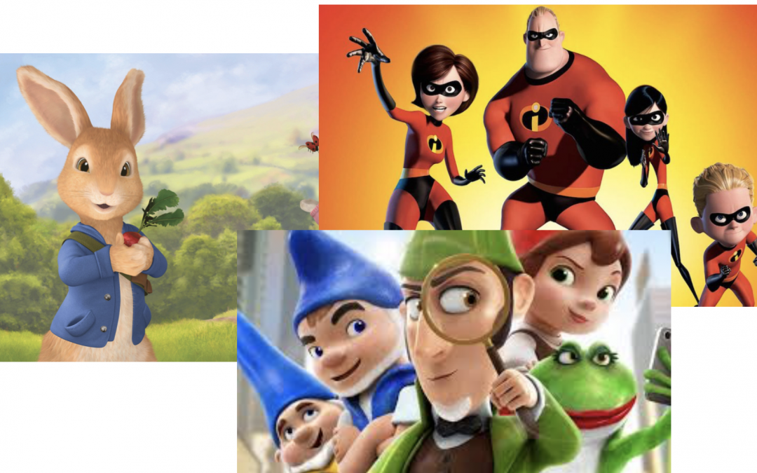 De keuzefilm voor januari: Sherlock Gnomes, Incredibles 2 of Pieter Konijn?