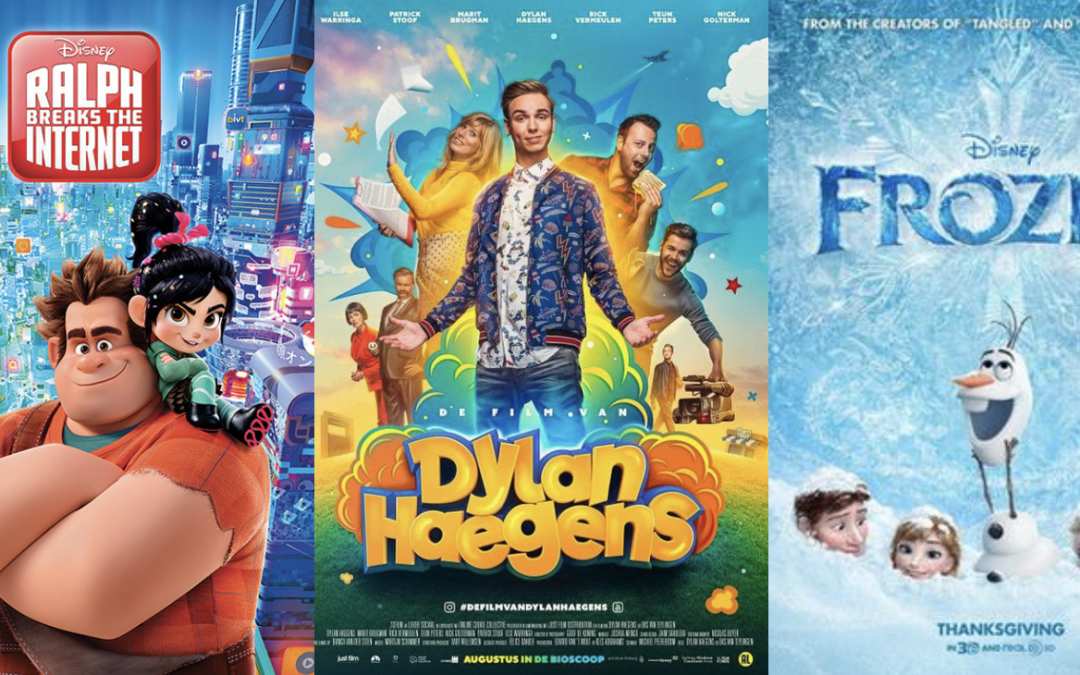 Wordt het Ralph Breaks the Internet, Frozen of De Film van Dylan Haegens?