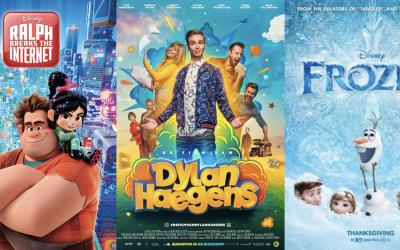 Wordt het Ralph Breaks the Internet, Frozen of De Film van Dylan Haegens?