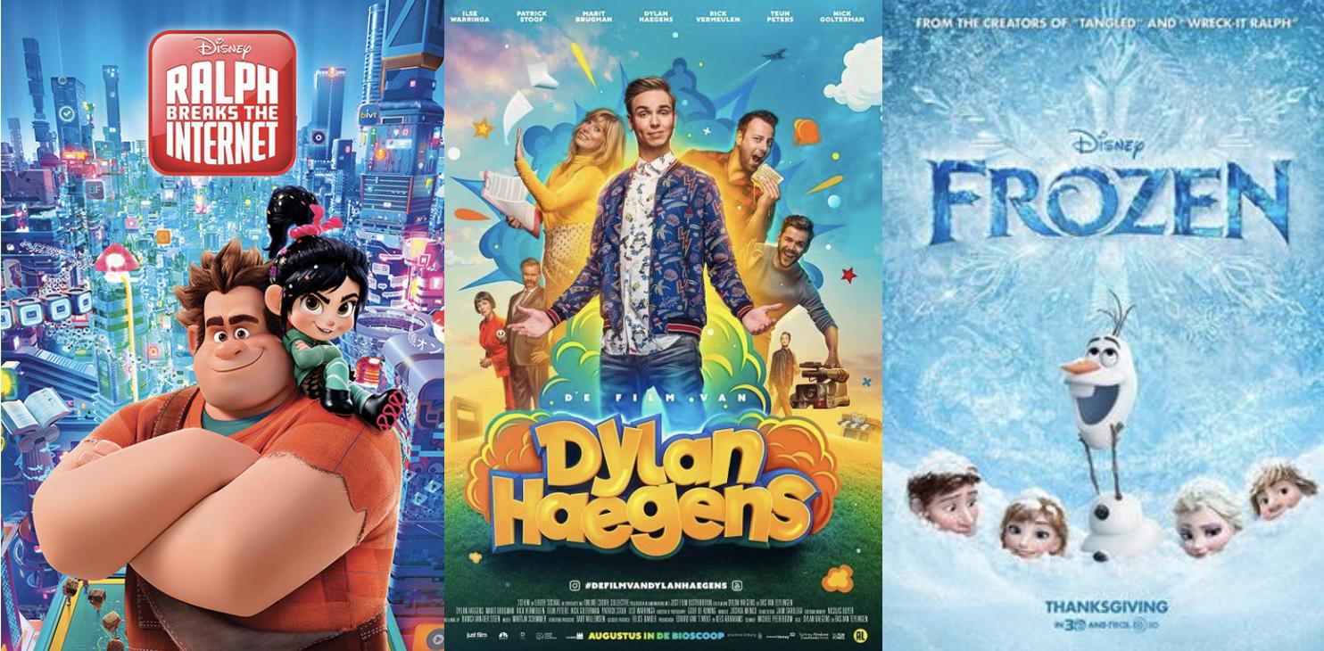 Kinderfilm: Ralph Breaks the Internet, Frozen of De Film van Dylan Haegens?