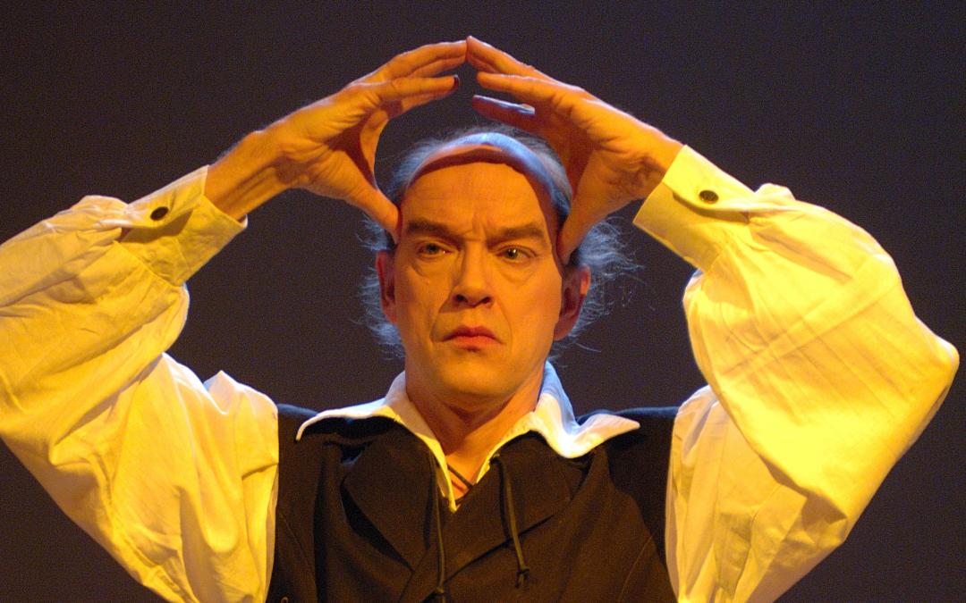 'De brief voor de koning' op het podium van Theater 't Web