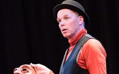 Joris Lehr speelt jeugdversie van Hamlet in Theater 't Web