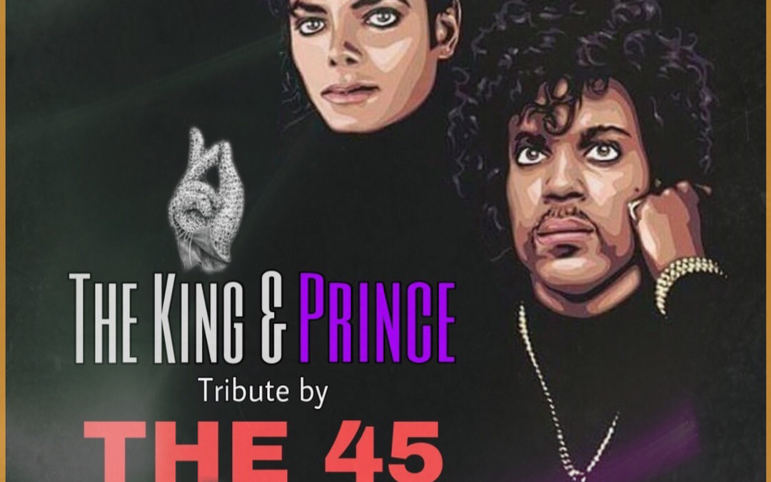 The 45 brengt tribute aan Prince en The King in Theater 't Web